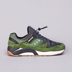 Saucony Grid 9000 Green / Charcoal