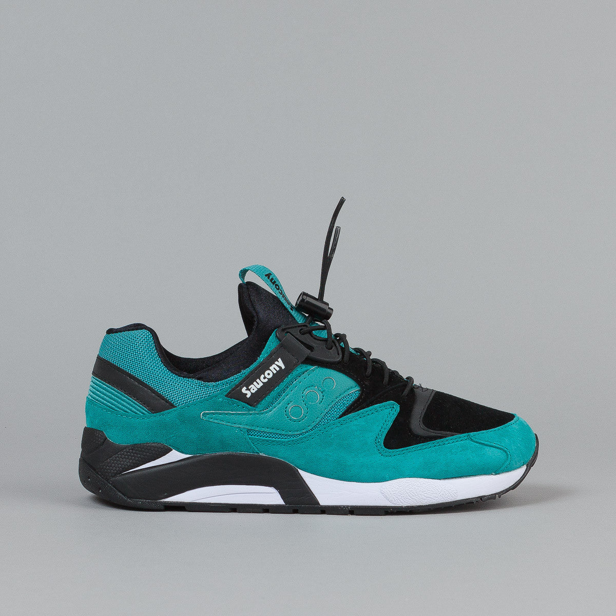 Saucony Grid 9000 Premium - Green / Black