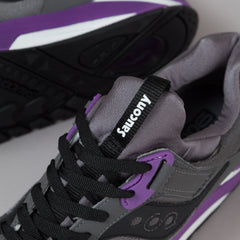 Saucony Grid 9000 Shoes - Charcoal / Purple