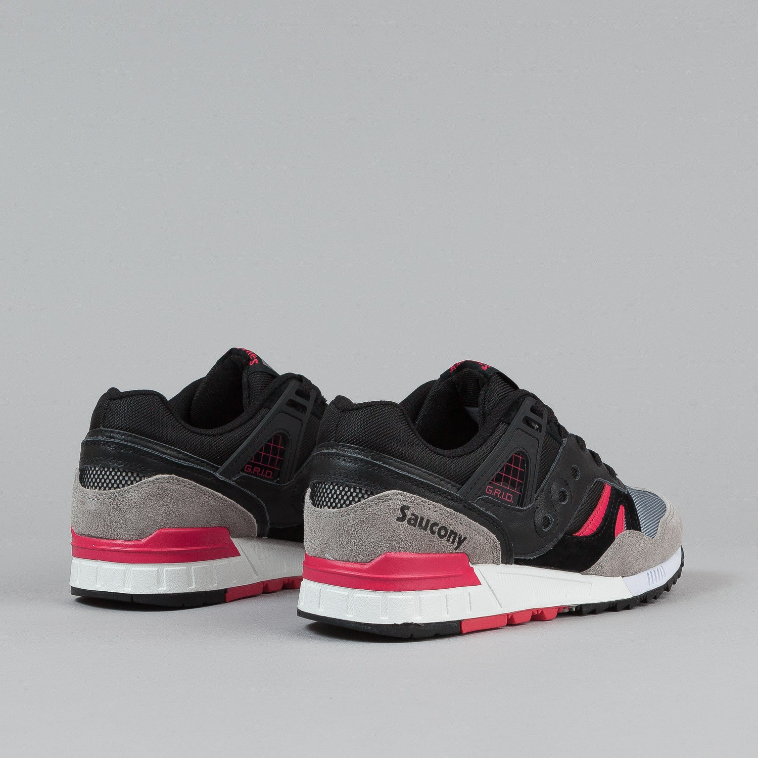 Saucony Grid SD Premium Shoes 'Grid Games' - Black / Grey