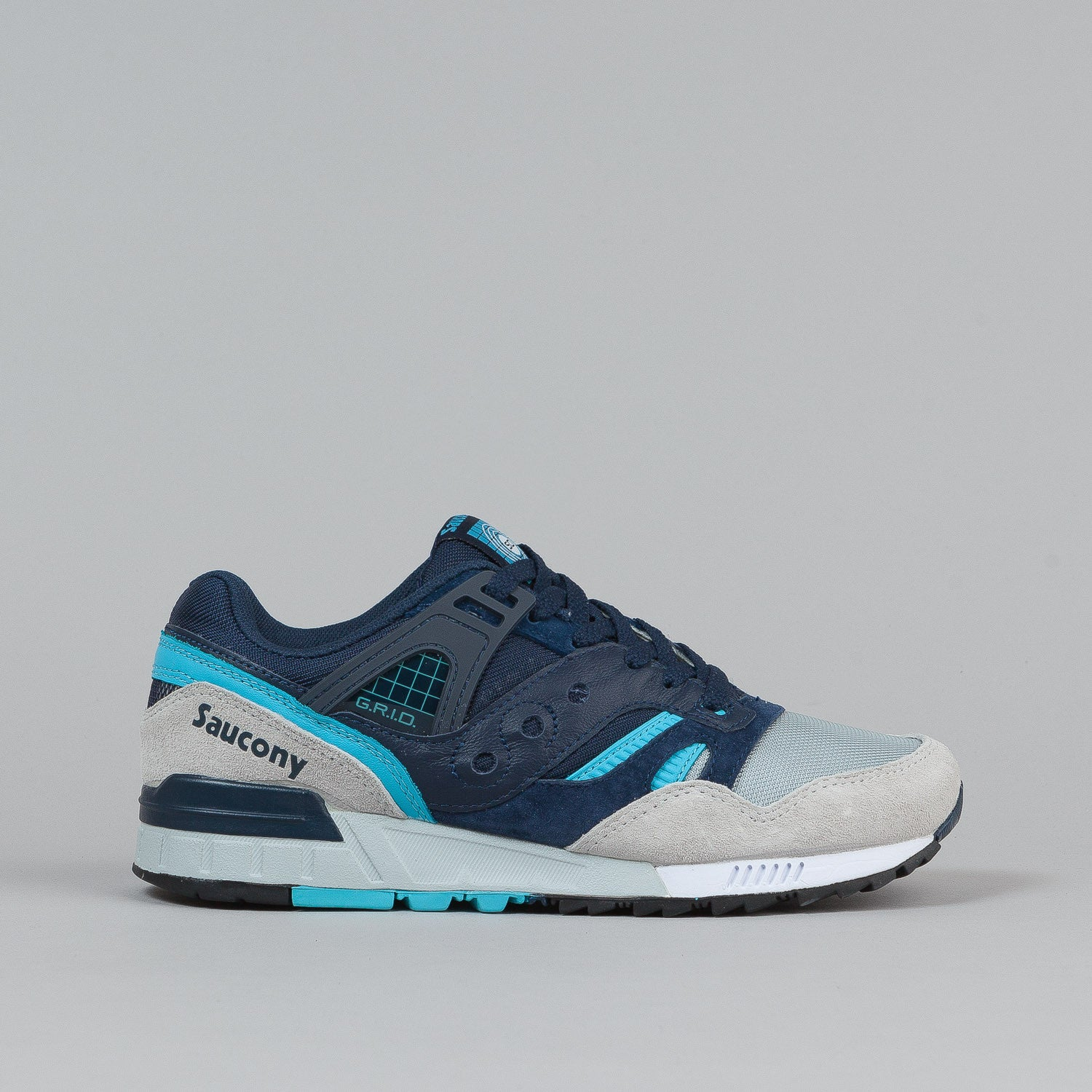Saucony Grid SD Premium Shoes 'Grid Games' - Navy / Grey