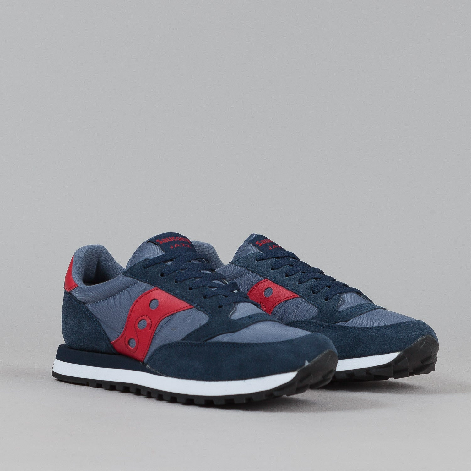 Saucony Jazz Original Shoes - Navy / Red