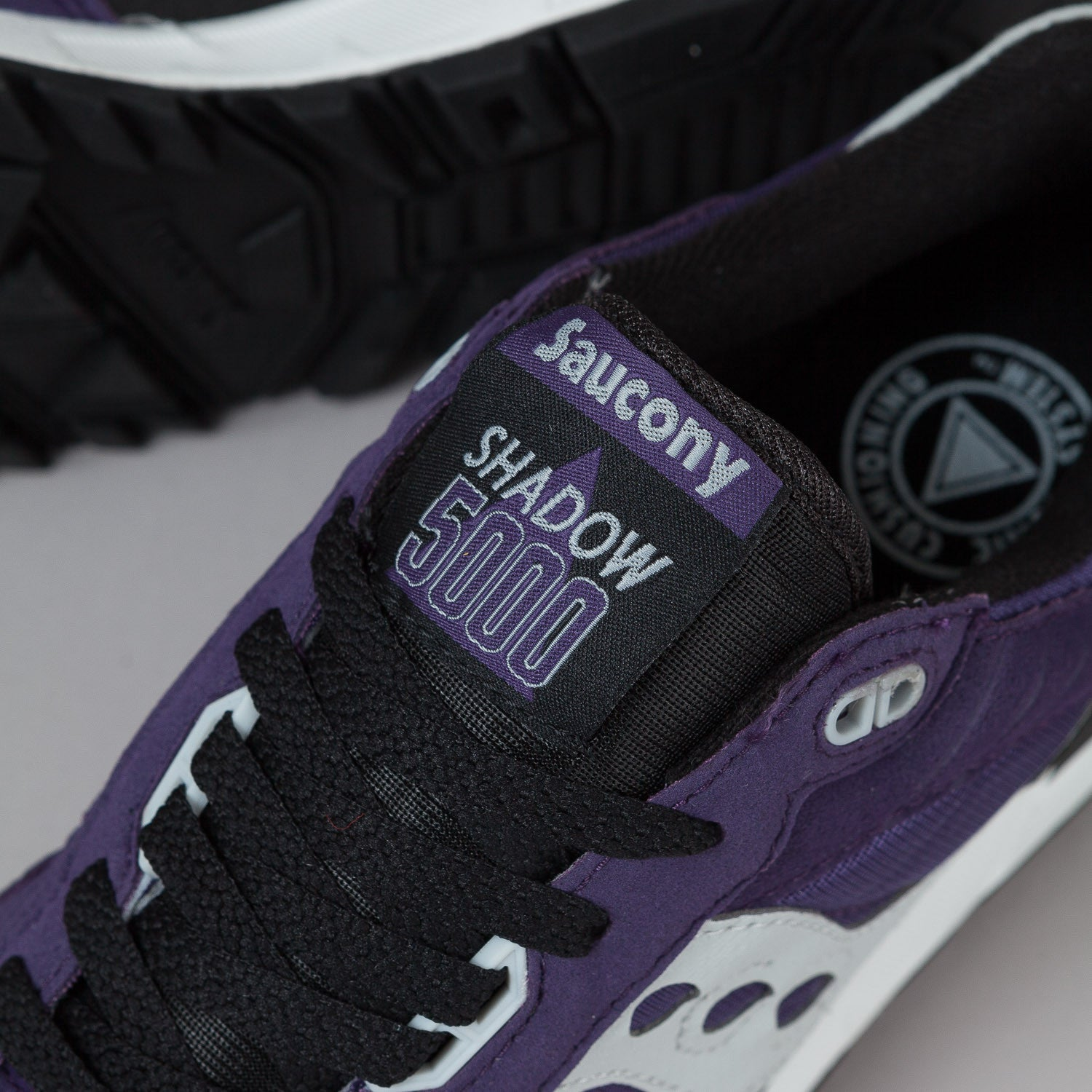 Saucony Shadow 5000 Shoes 'Fresh Picked Blackberry' - Purple / Black