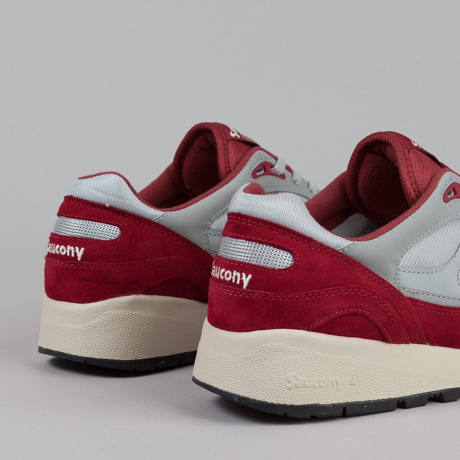 Saucony Shadow 6000 Grey / Red