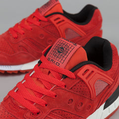 Saucony Grid SD Premium Shoes - 'No Chill' Red