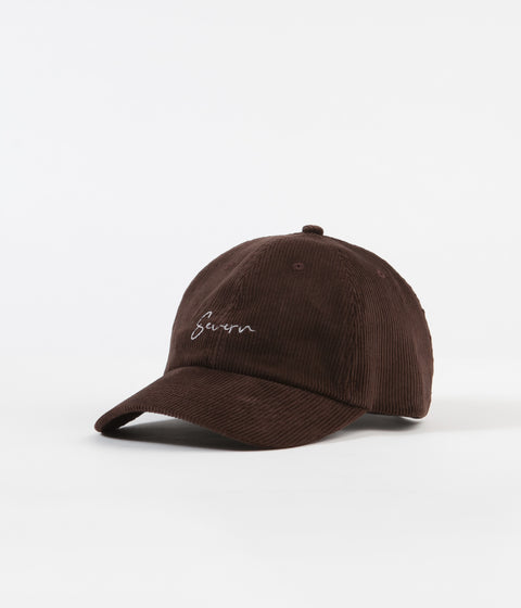 Severn Civilian 6 Panel Dad Cap - Brown Corduroy