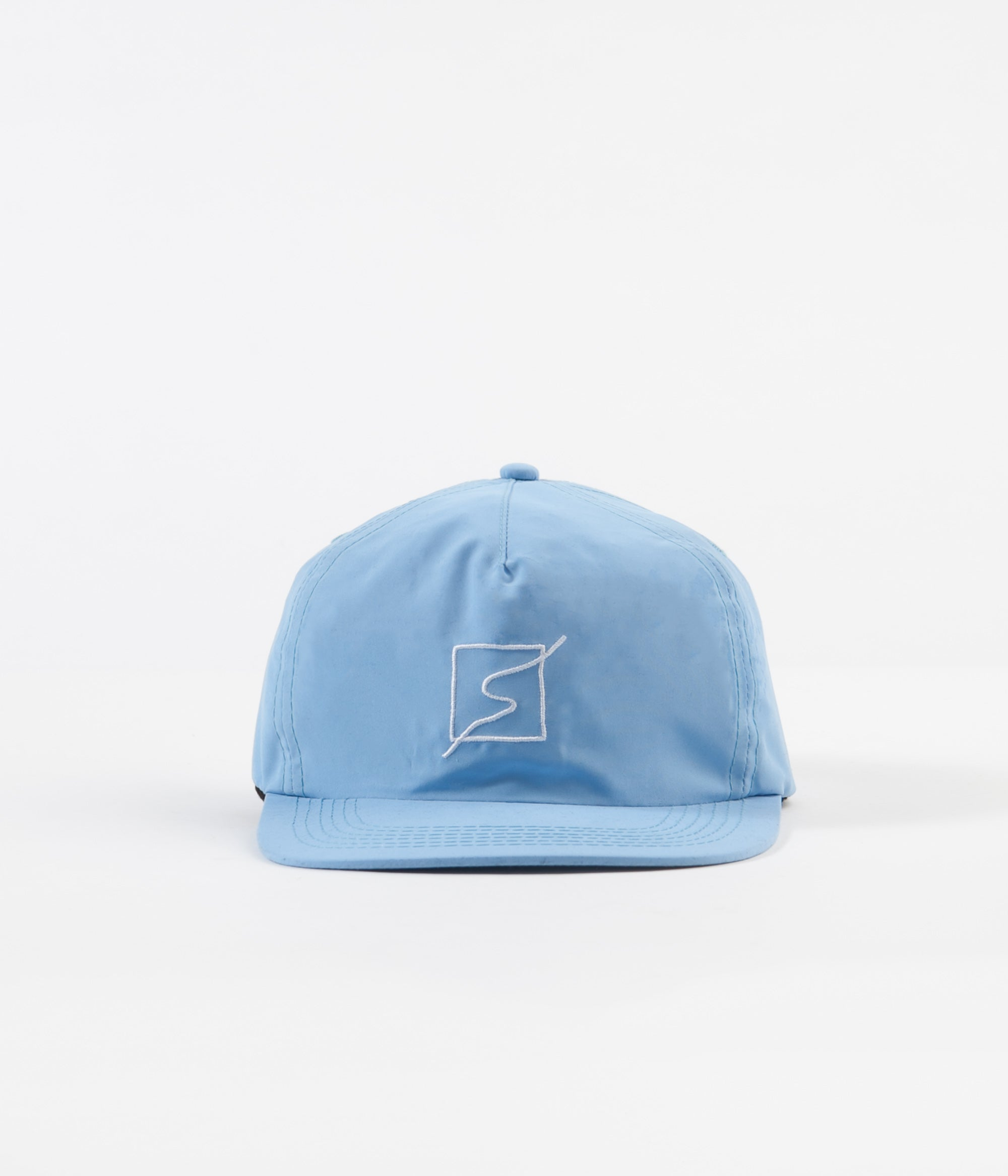 Severn Sinuous 5 Panel Cap - Blue Micro Fibre