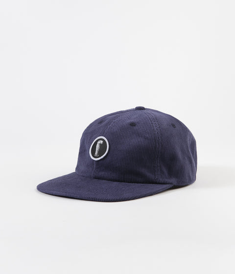 Severn Tulip 6 Panel Cap - Navy Cord