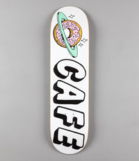 Skateboard Cafe Planet Donut Deck - White - 8.125""