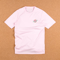 Skateboard Cafe Planet Donut T-Shirt - Pink