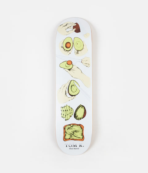 Skate Mental Tom K Avocado Toast Deck - 8.25""