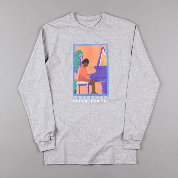 Skateboard Cafe Alice Long Sleeve T-Shirt - Grey