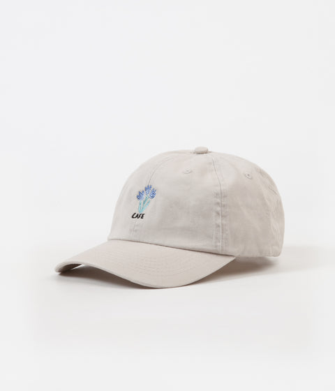Skateboard Cafe Blues 6 Panel Cap - Cream