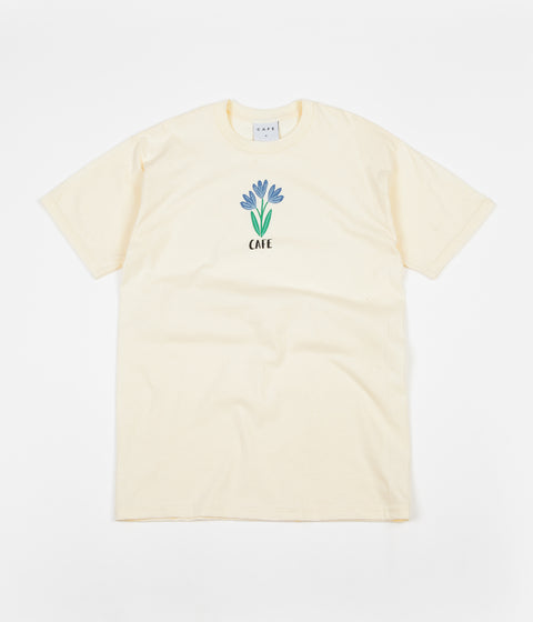 91be5160403 Skateboard Cafe Blues T-Shirt - Cream