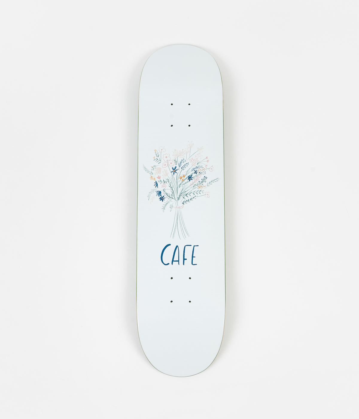 Skateboard Cafe Bouquet Deck - White - 8""