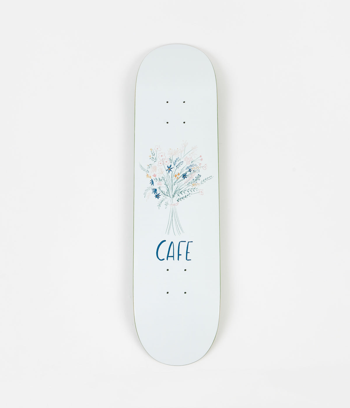 Skateboard Cafe Bouquet Deck - White - 8.125""