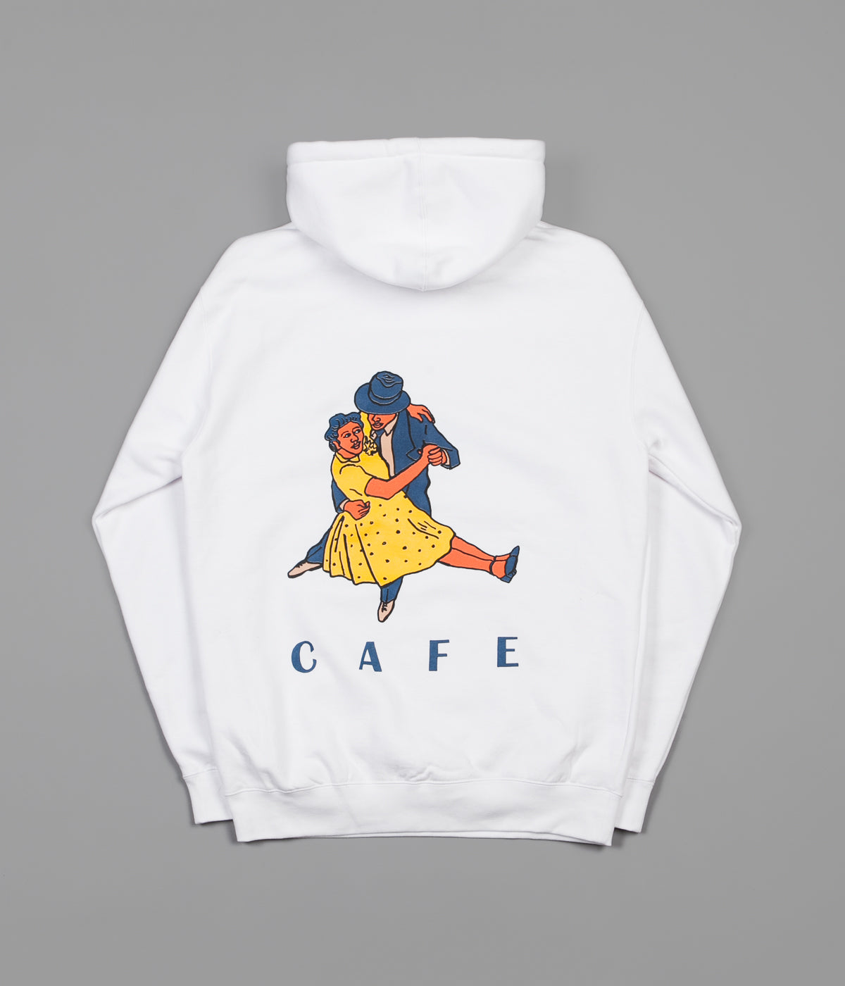 Skateboard Cafe Dancers Hoodie - White