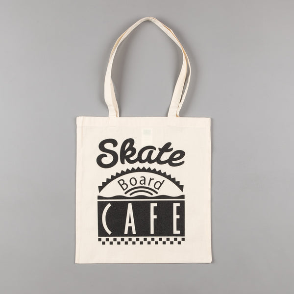 Skateboard Cafe Diner Tote Bag - Natural
