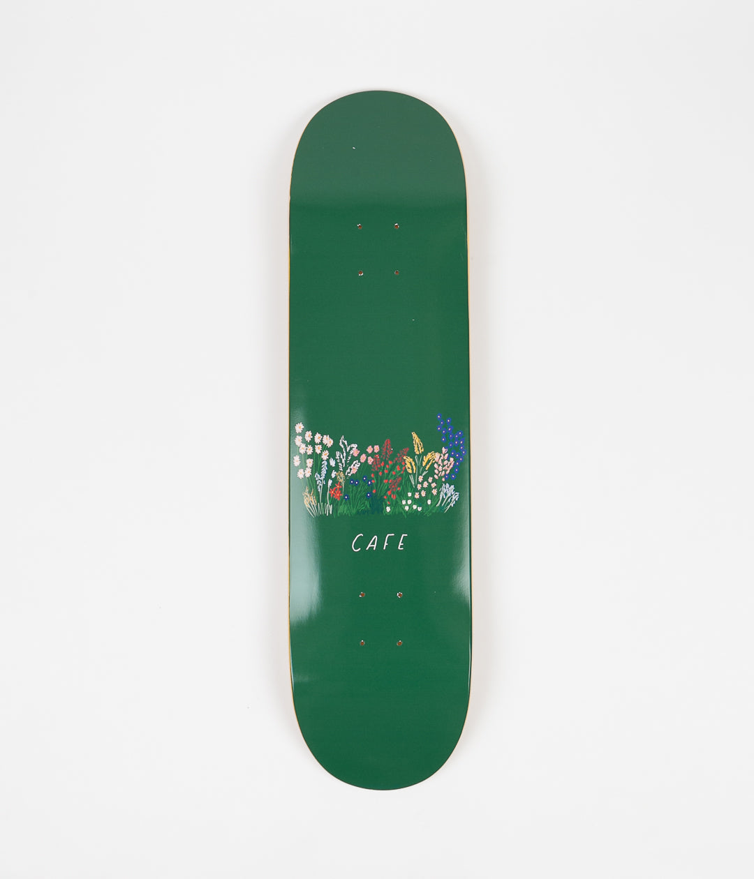 Skateboard Cafe Flower Bed Deck - Forest Green - 8.125""