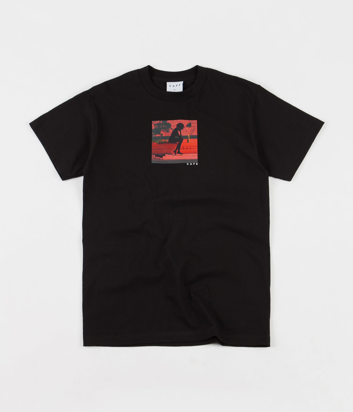 Skateboard Cafe Liberated T-Shirt - Black