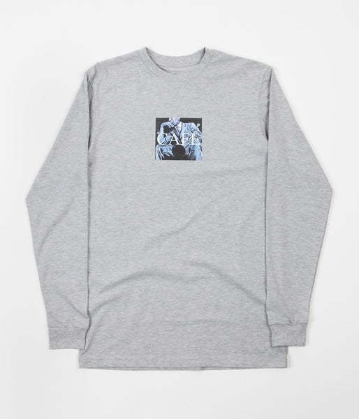 Skateboard Cafe Morgan Long Sleeve T-Shirt - Ash Heather