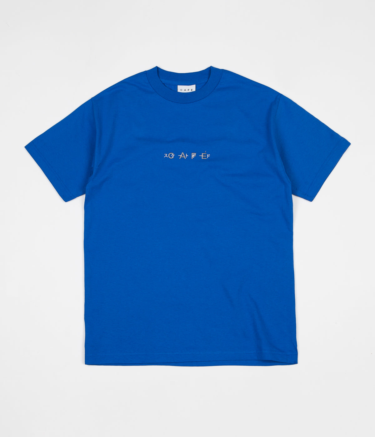 Skateboard Cafe OBI Duke T-Shirt - Royal