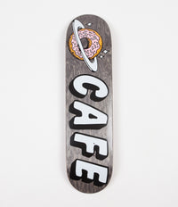 Skateboard Cafe Planet Donut Deck - Black - 8.125""