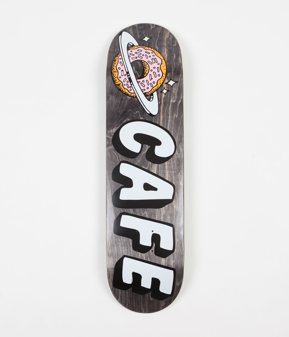 Skateboard Cafe Planet Donut Deck - Black - 8.4""
