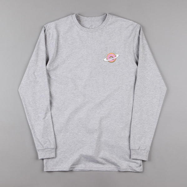 Skateboard Cafe Planet Donut Long Sleeve T-Shirt - Grey