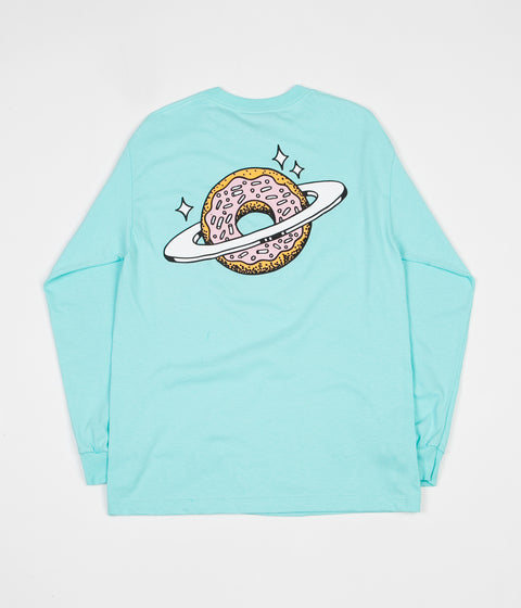 Skateboard Cafe Planet Donut Long Sleeve T-Shirt - Icing Blue