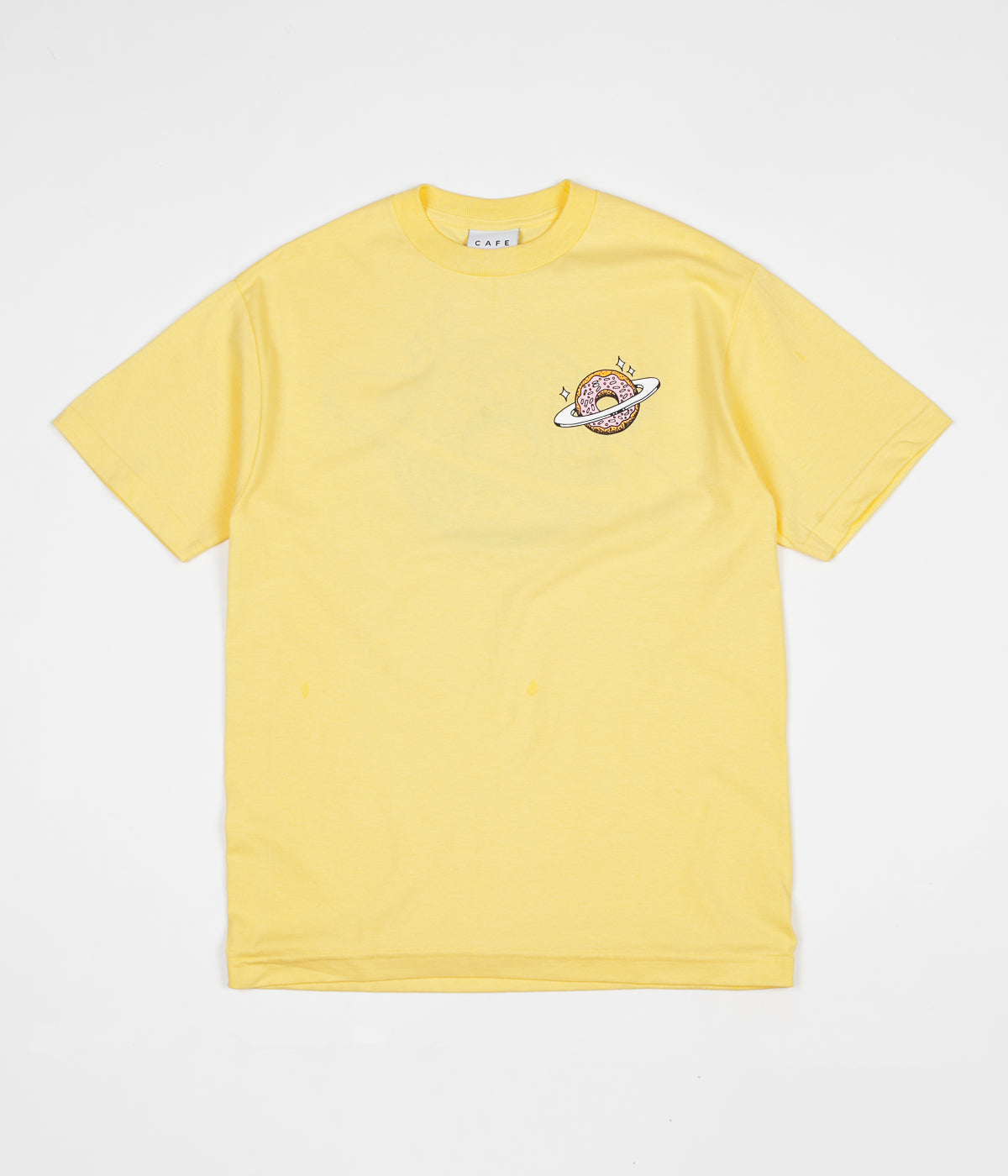 Skateboard Cafe Planet Donut T-Shirt - Banana