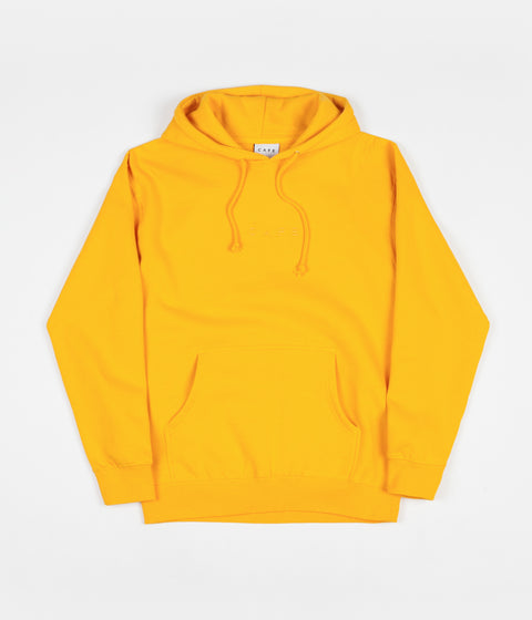 Skateboard Cafe Tonal Embroidered Hoodie - Gold