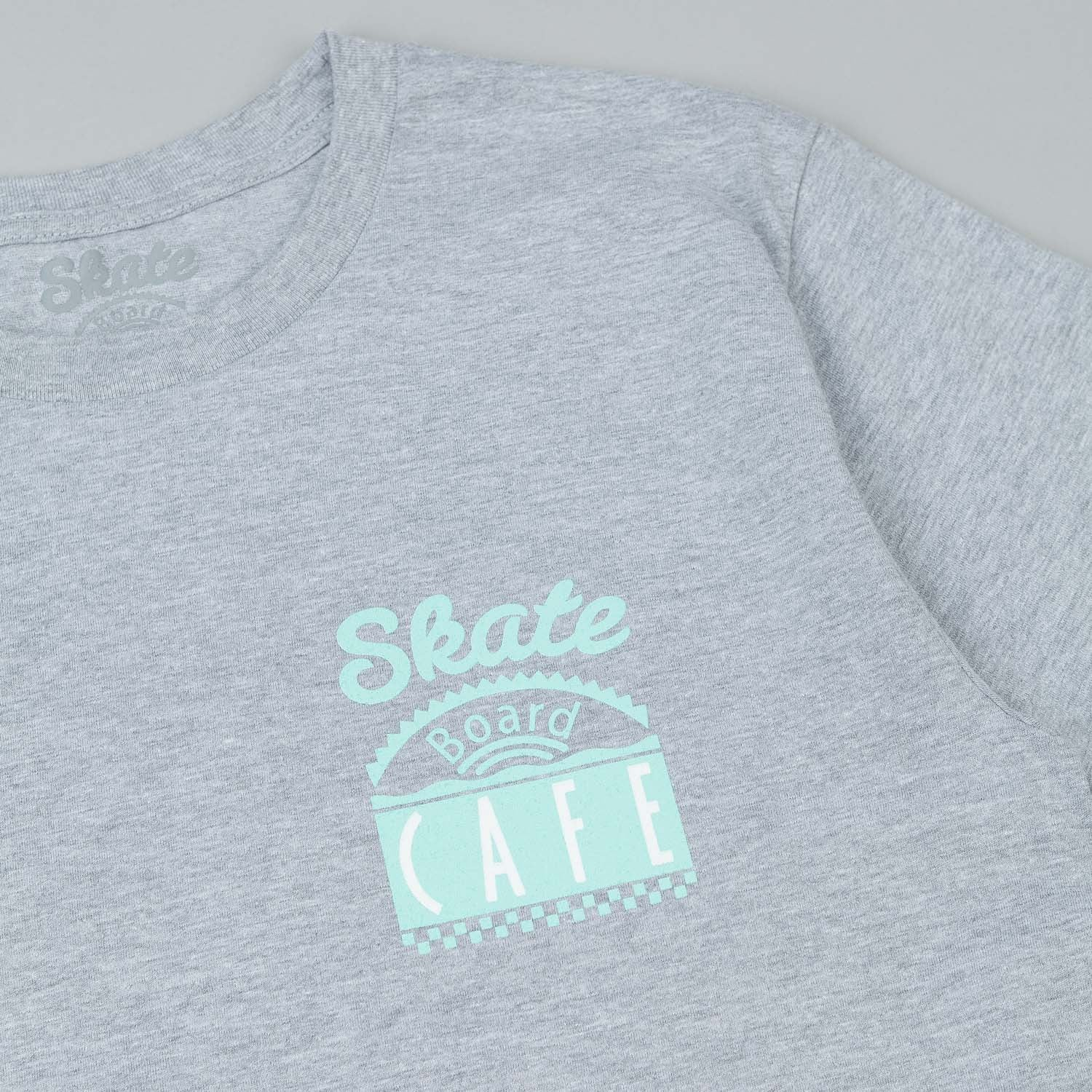 Skateboard Cafe Lil Cuppy T-Shirt - Grey