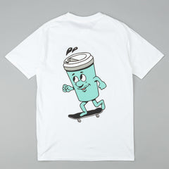 Skateboard Cafe Lil Cuppy T-Shirt - White