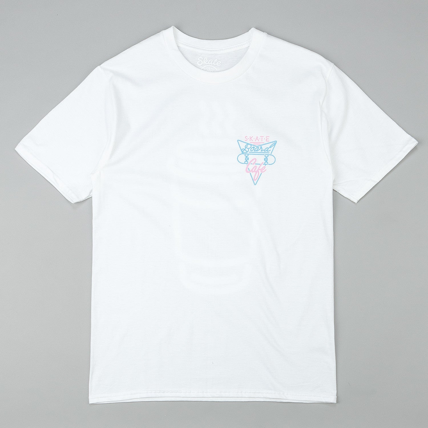 Skateboard Cafe Neon Cup T-Shirt