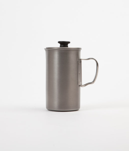 Snow Peak 3 Cup French Press - Titanium