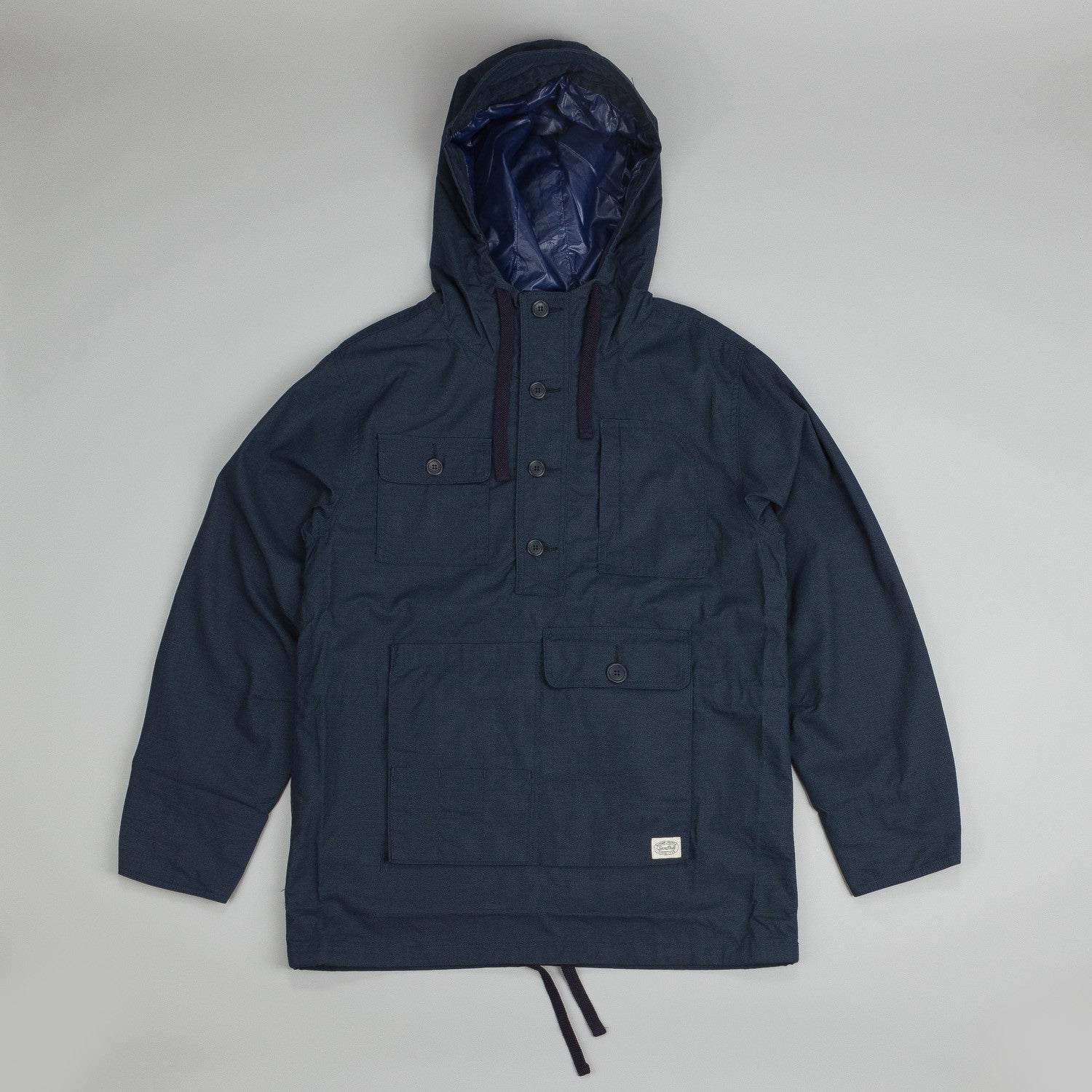 Snow Peak Fire Protect Parka Jacket Navy