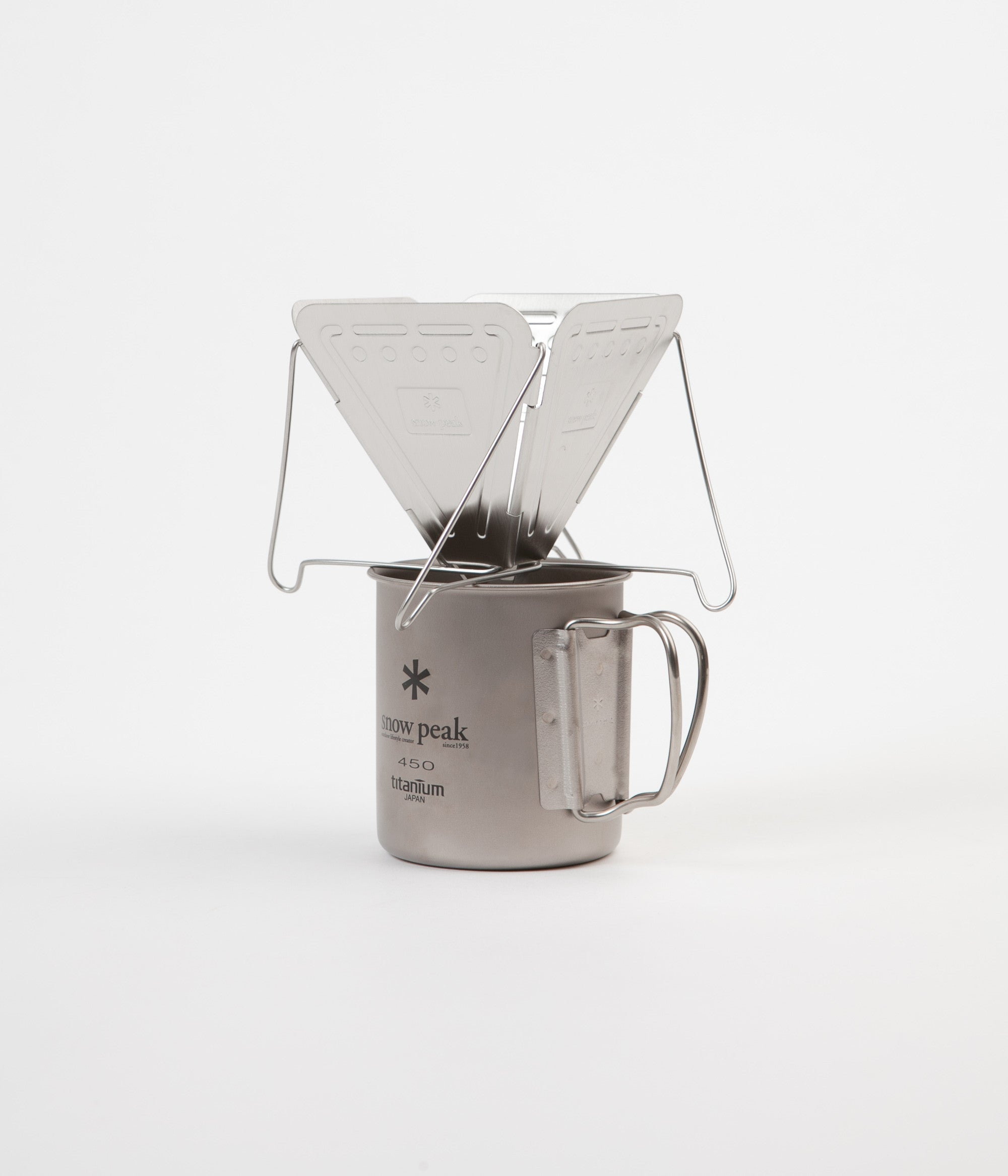 Snow Peak Folding Coffee Dripper - Stainless Steel