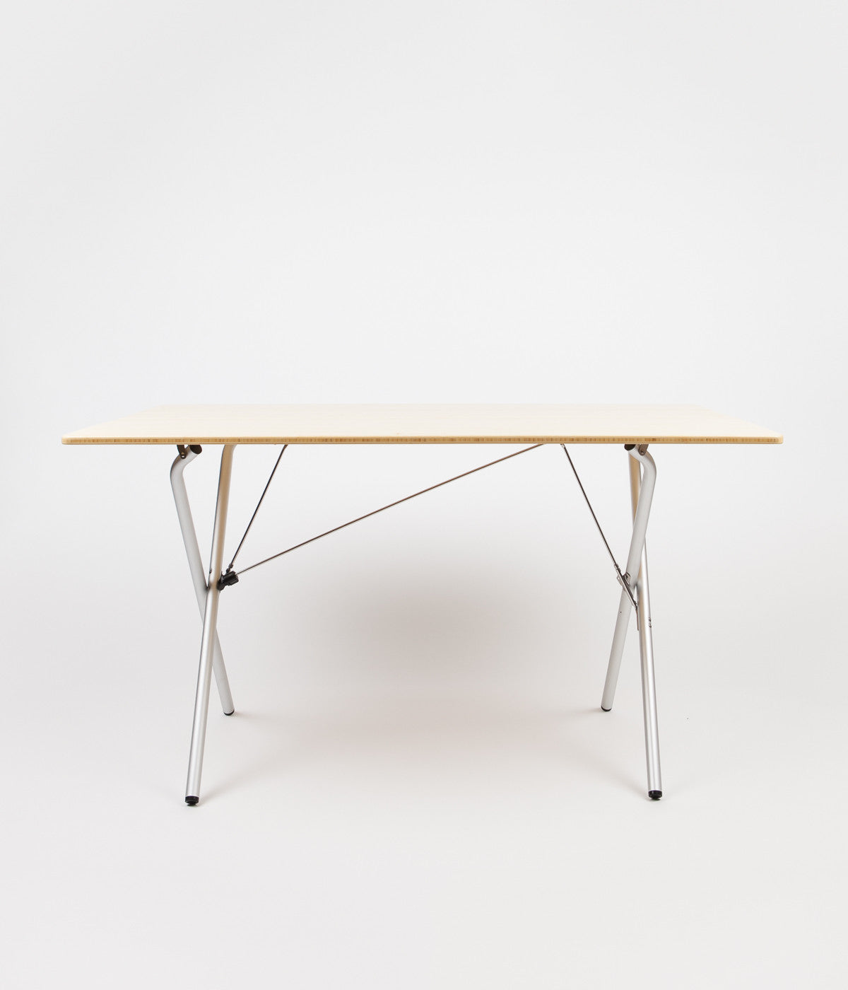 Snow Peak Long Single-Action Folding Table - Bamboo