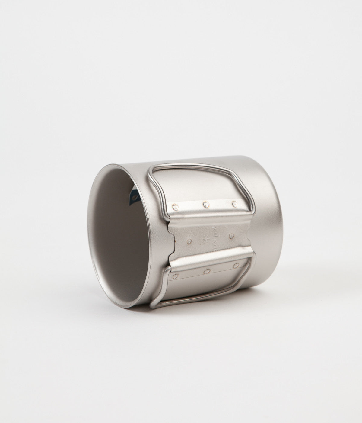 Snow Peak Titanium Double Wall 450ml Mug - Silver