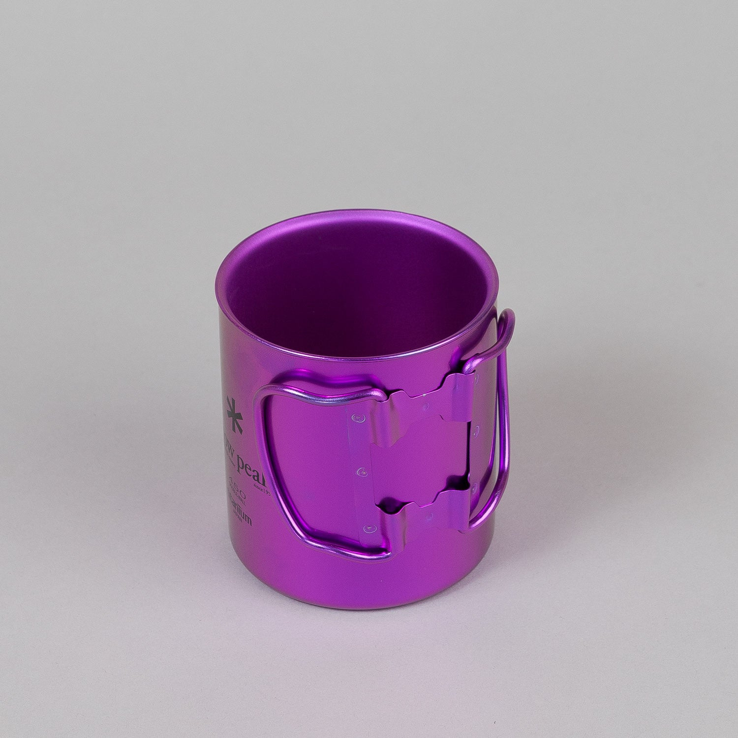 Snow Peak Titanium Double Wall Cup 450 - Coral Reef Purple