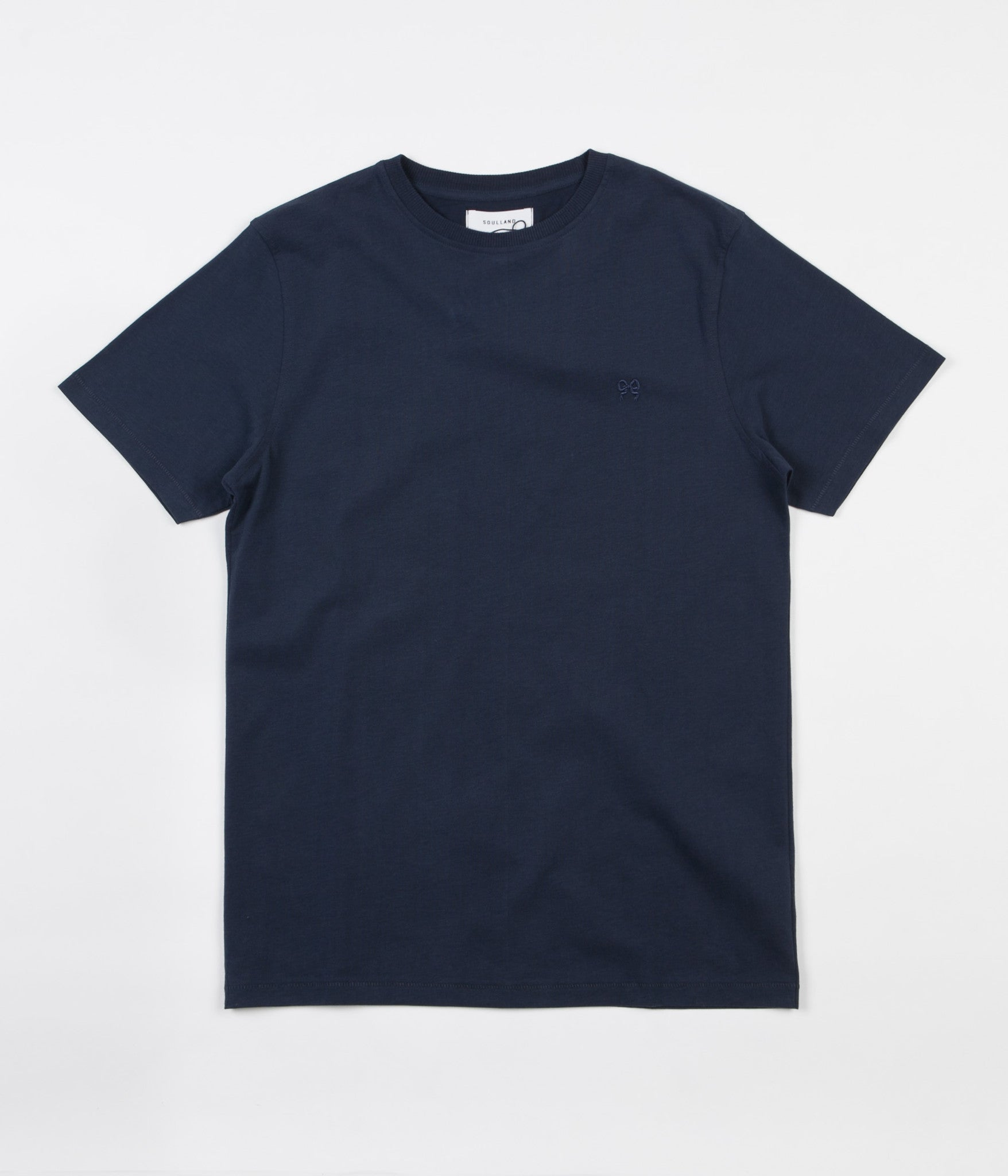 Soulland NOS Whatever T-Shirt - Navy