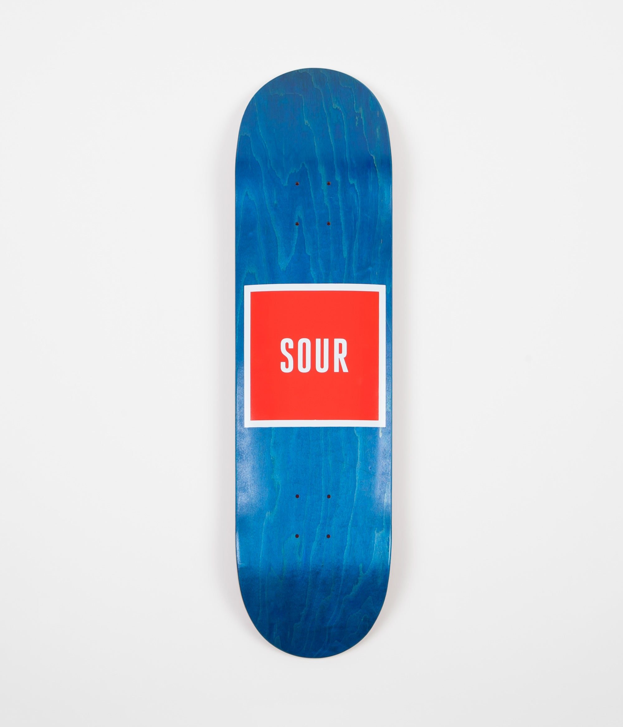 Sour Skateboards Army Deck - Blue - 8.25""