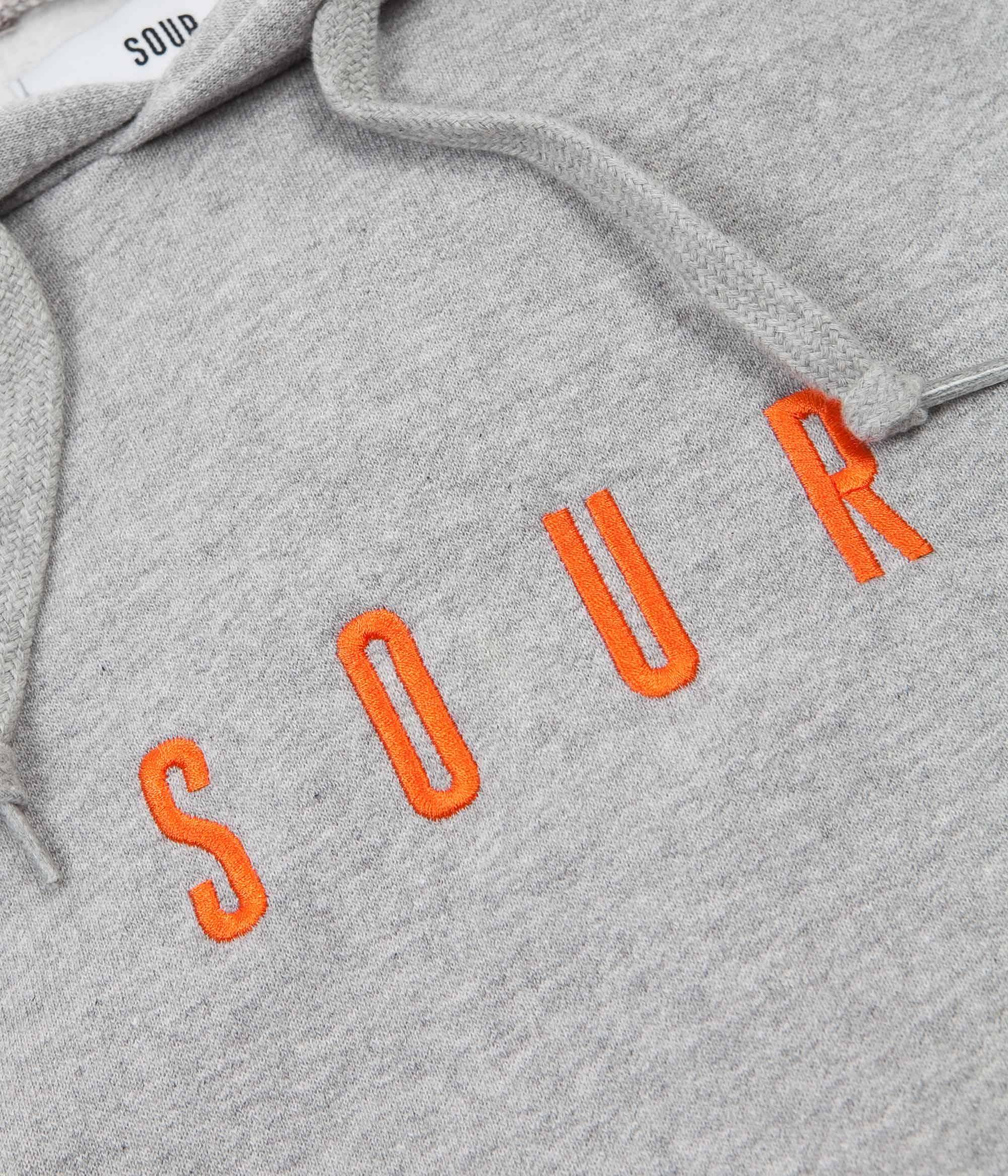 Sour Skateboards Army Hoodie - Grey