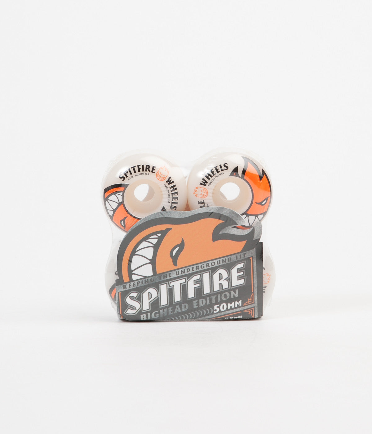 Spitfire Bighead Wheels 50mm White