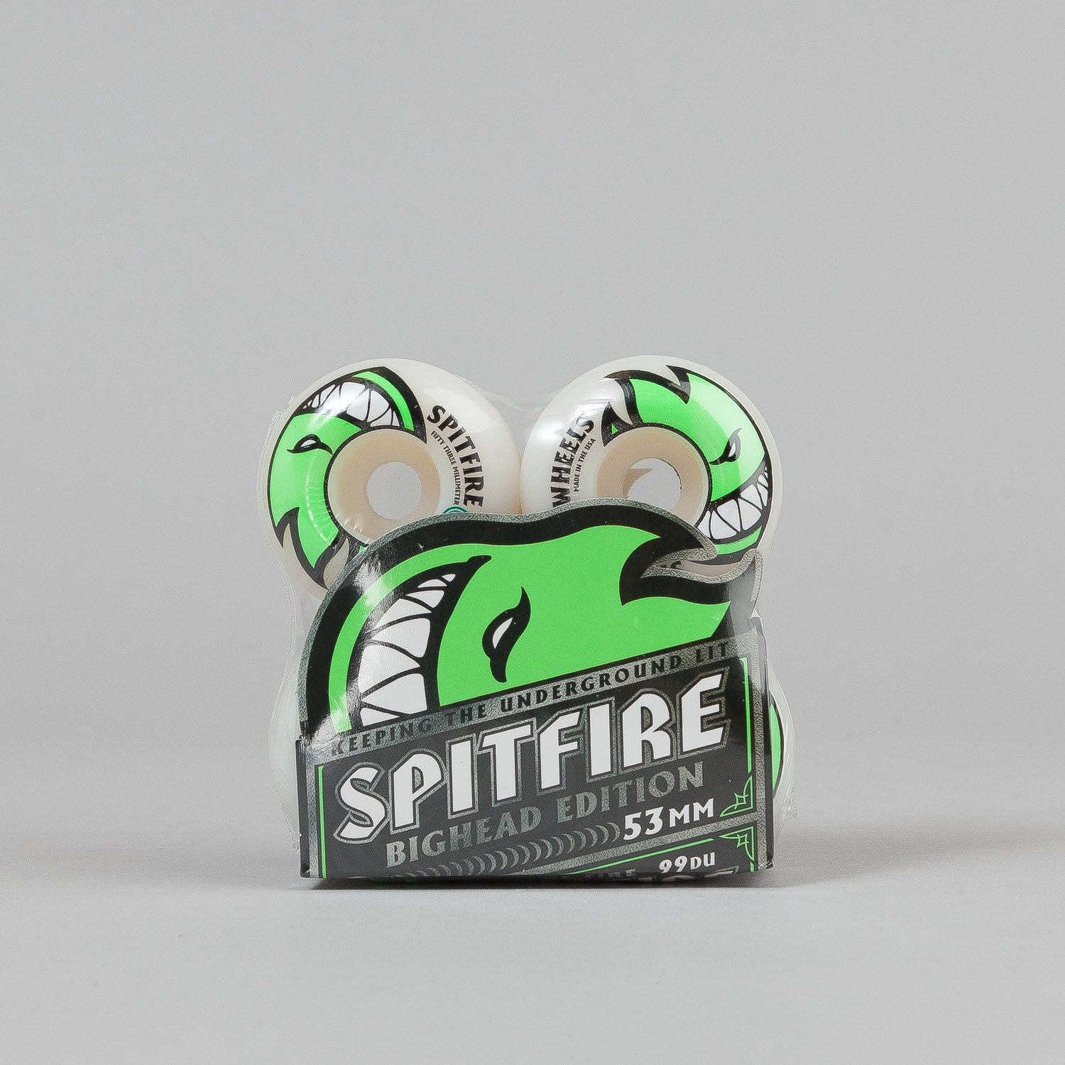 Spitfire Bighead Wheels 53mm White