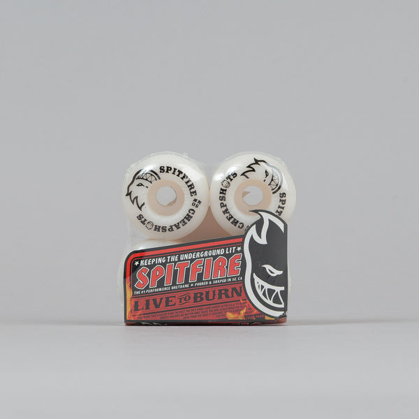 Spitfire Cheapshots Wheels White 50mm