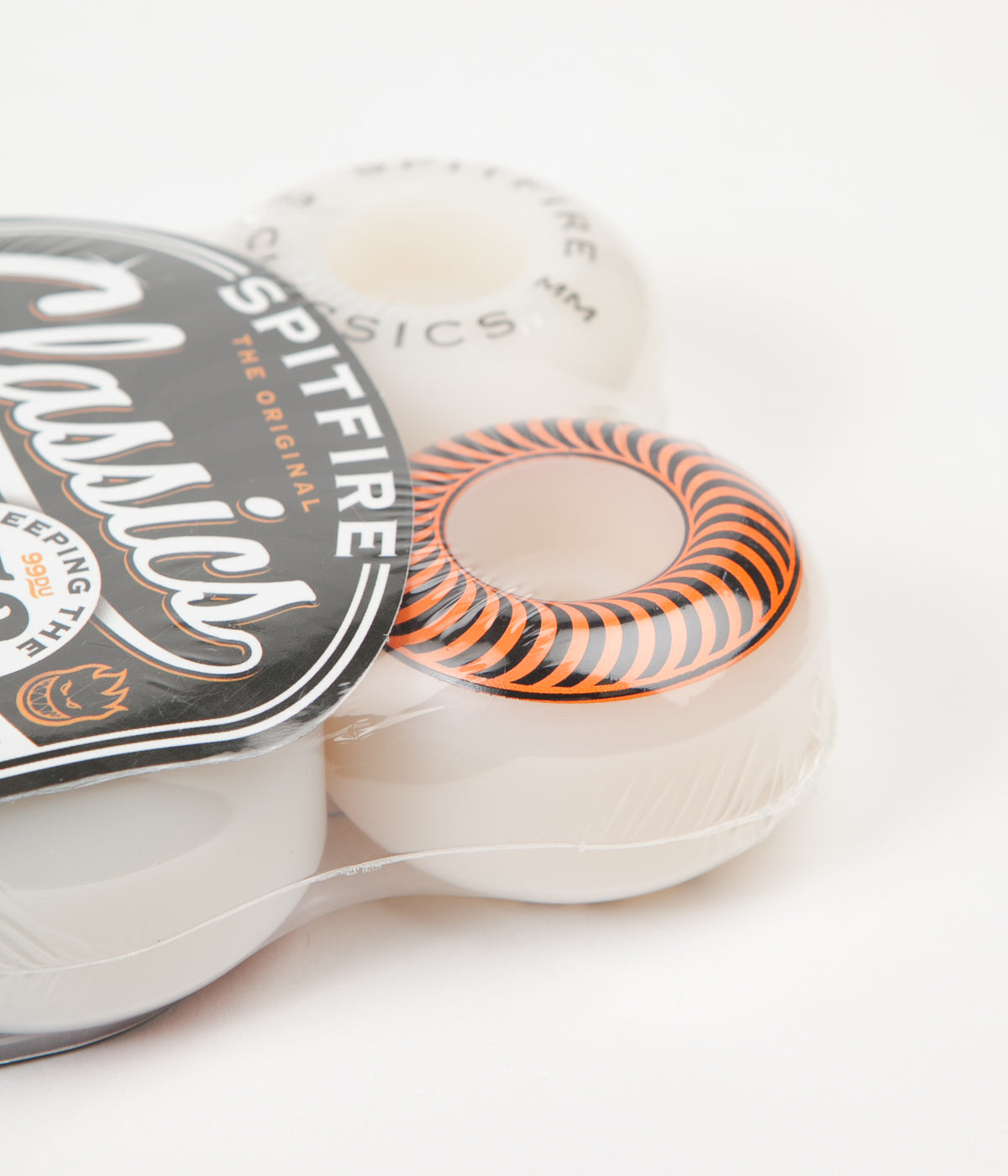 Spitfire Classic Wheels 53mm White