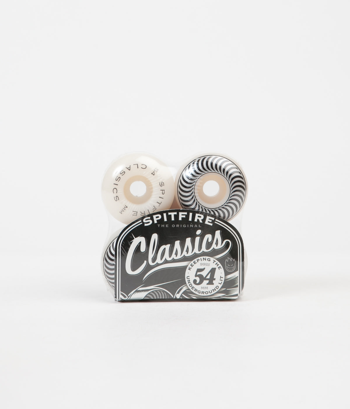 Spitfire Classic Wheels 54mm White