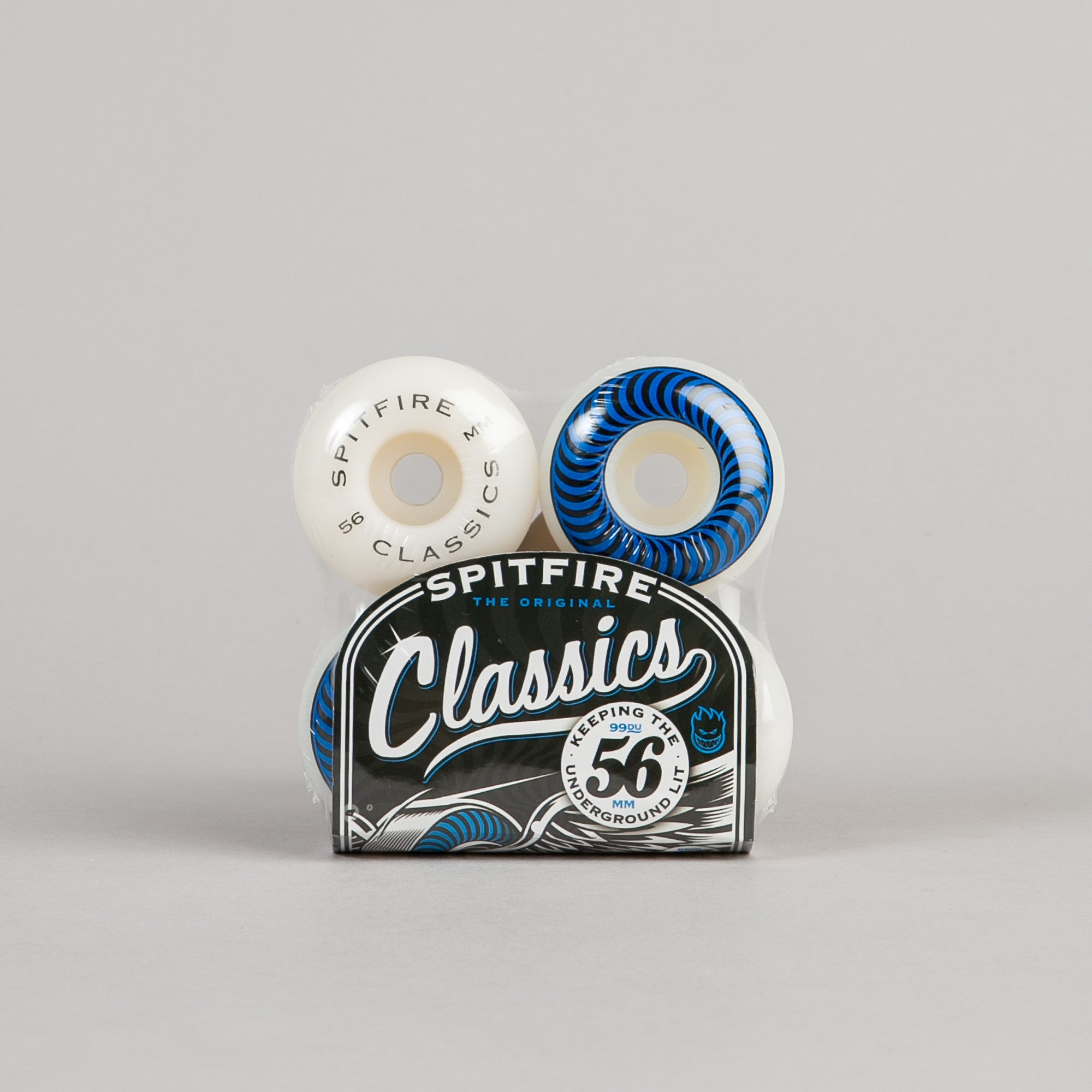 Spitfire Classic Wheels 56mm White